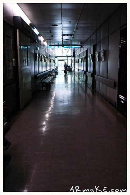 醫院的長廊